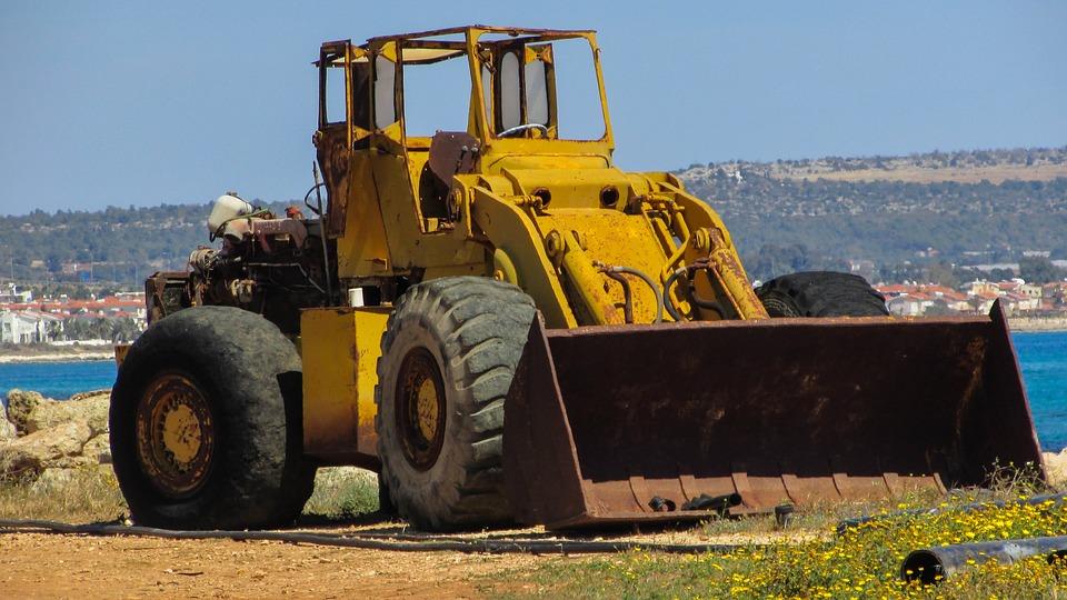 free photo bulldozer heavy machine old free image on pixabay