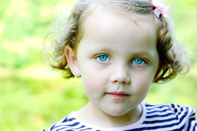 little girl blue eyes child 183 free photo on pixabay