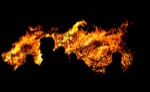 watching, fire, hot