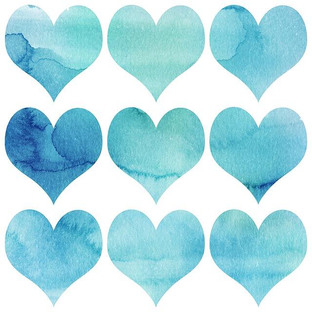 Romance Hearts Watercolor Free Image On Pixabay