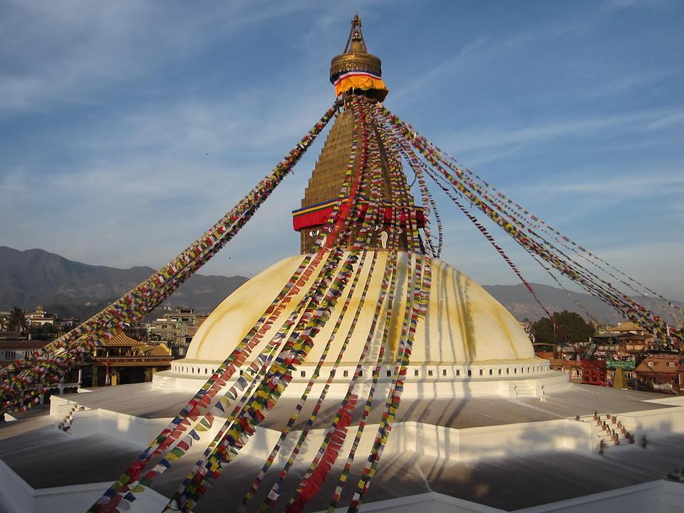 kostenloses foto buddhistische stupa buddhismus