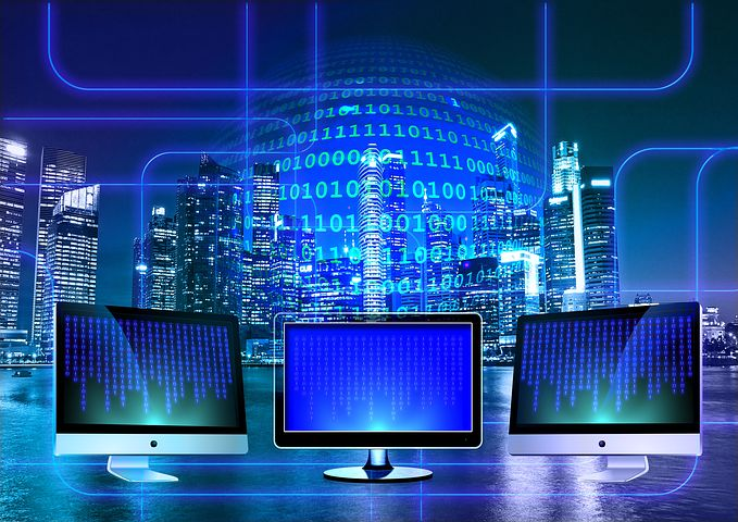 Monitor, Binary, Binary System, Computer