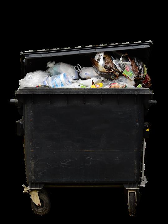 Garbage, Poubelle, Des Déchets, Tonne De Plastique