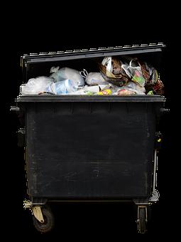 Garbage, Dustbin, Waste, Garbage Can