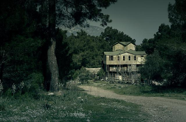 free photo haunted house dark halloween free image