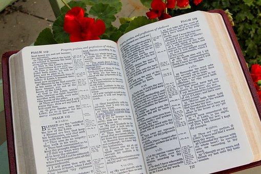 Bibel, Offen, Buch, Religion