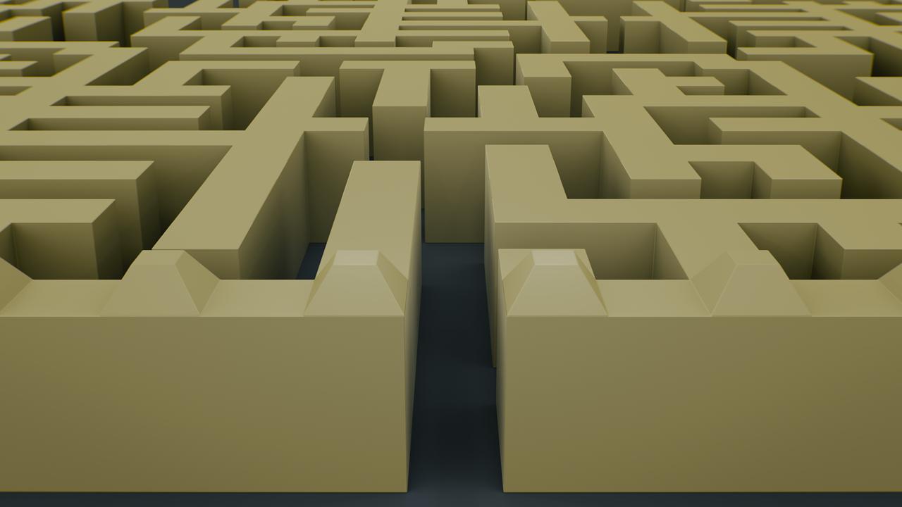 Maze Labyrinth Puzzle - Free image on Pixabay