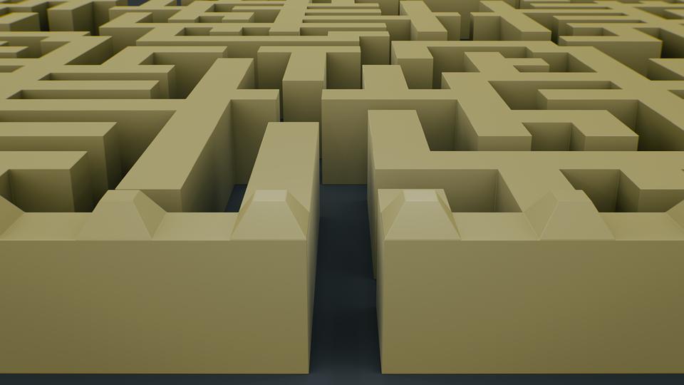 maze labyrinth puzzle  u00b7 free image on pixabay vector leaf images vector leaf icon