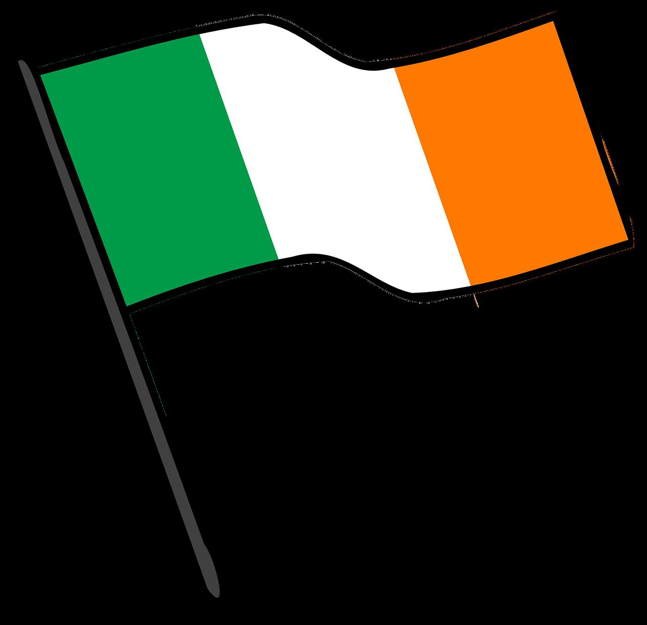 ирландский флаг картинки уже