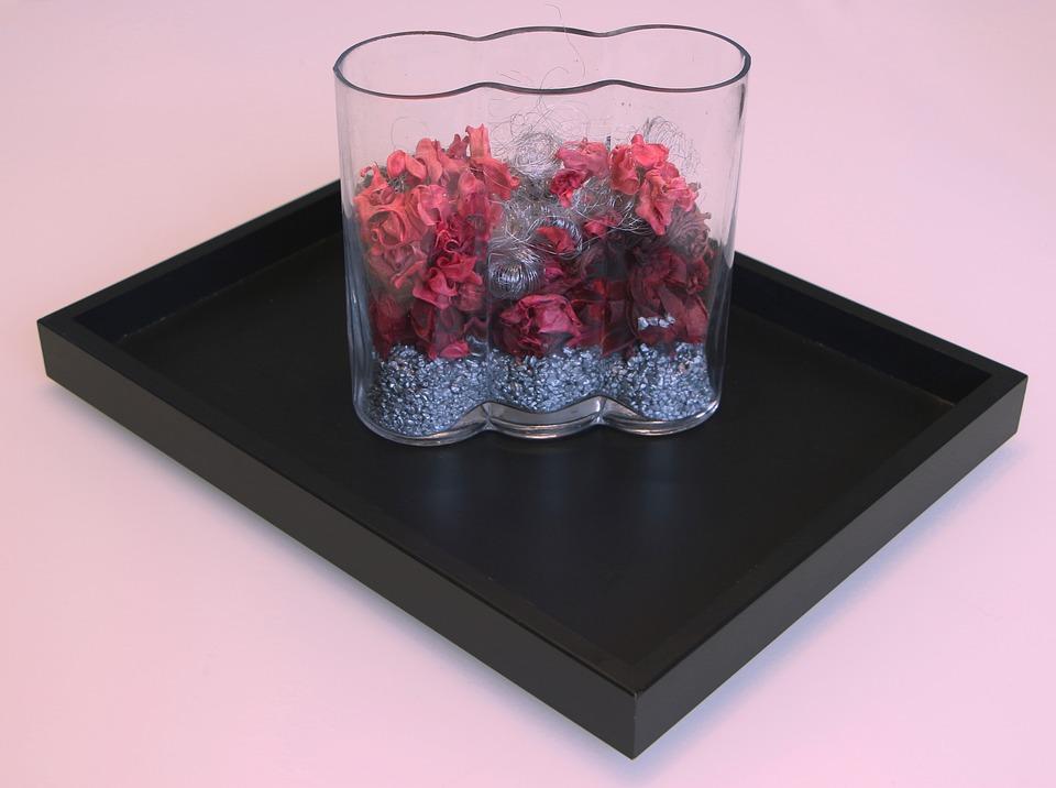 Glas Blumen Dekoration Kostenloses Foto Auf Pixabay