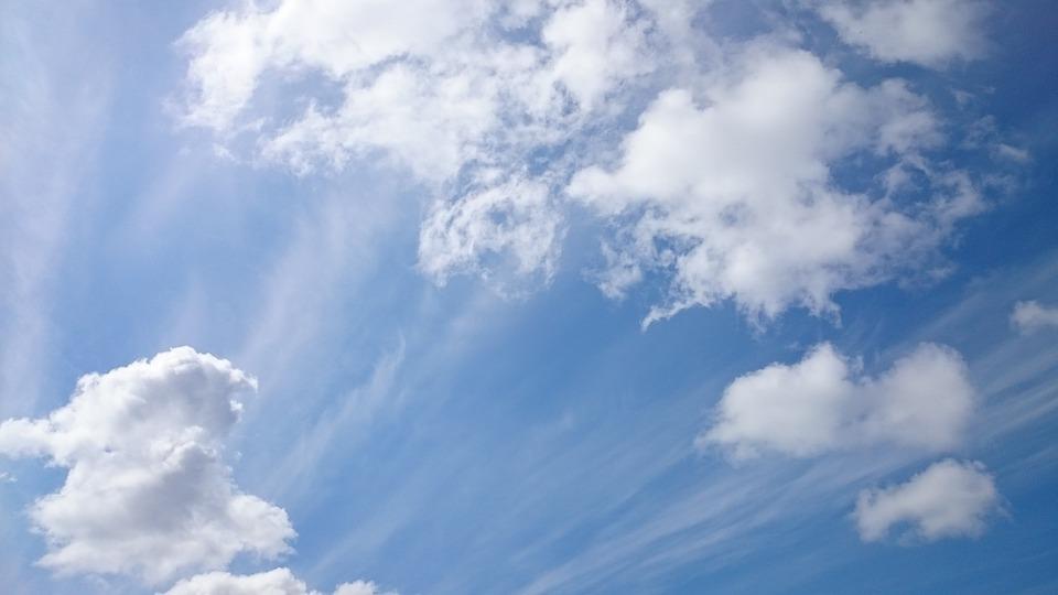 Fotos E Imagenes Cielo Azul Con Nubes: Cielo Nubes Cielos De · Foto Gratis En Pixabay