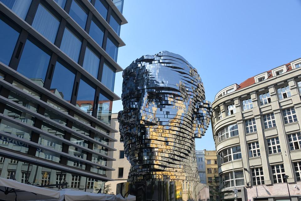 Skulptur, Denkmal, Franz Kafka, Prag