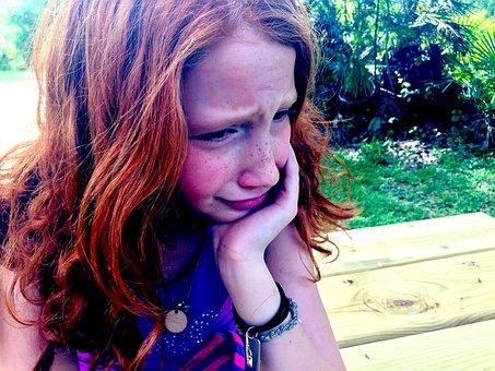Pleurer, Triste, Enfant, Tristesse