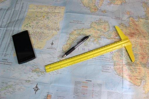 Map, World Map, Travel, World Map