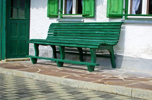 Wooden Bench, Bank, Bench, Click, Seat