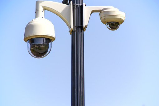 Rotary Camera Monitoring Safety Surveillan