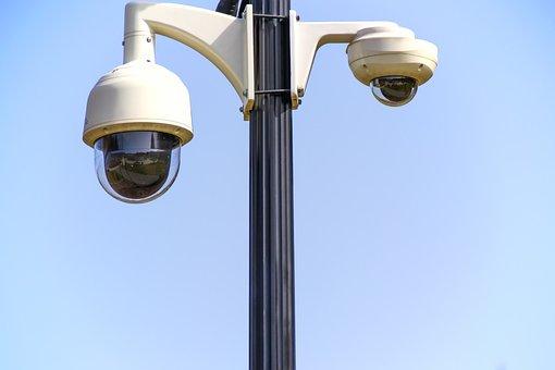 Rotary Camera Monitoring Safety Surveillan