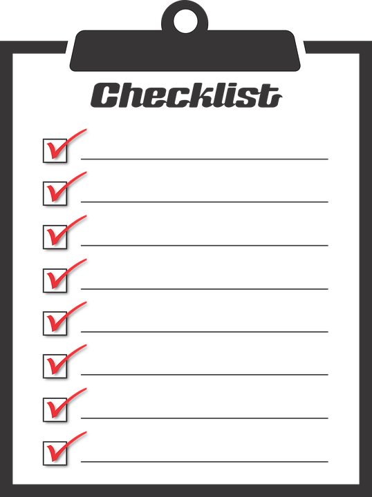 Checklist, To Do, Activities, Boxes, Checkmark, Chores