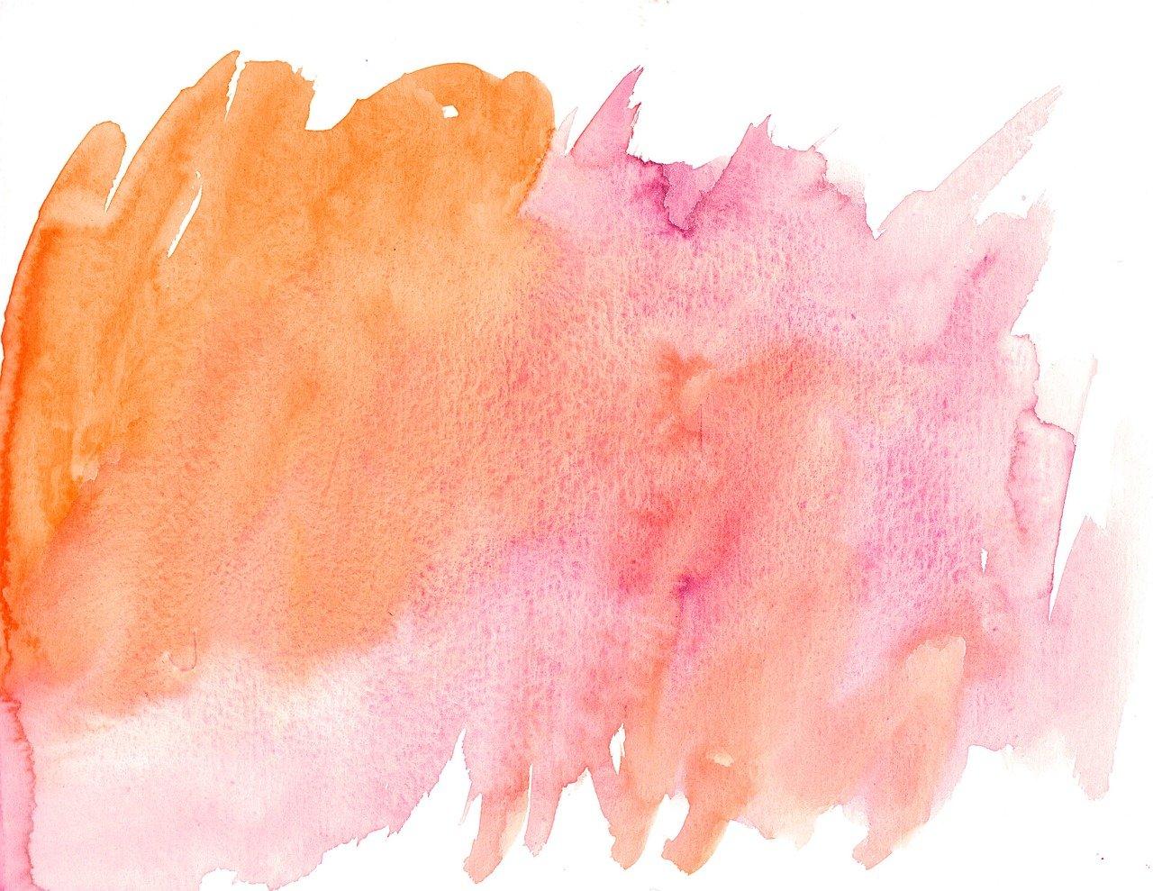 Как сделать нежные цвета акварелью