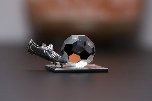 Macro, Closeup, Soccer, Football, Ball