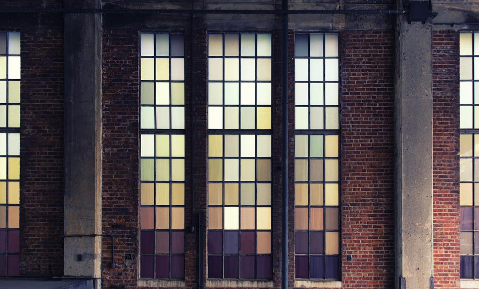 Free Photo Old Building Glass Colors Free Image On