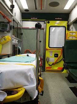 Ambulance, Wear, Interior View