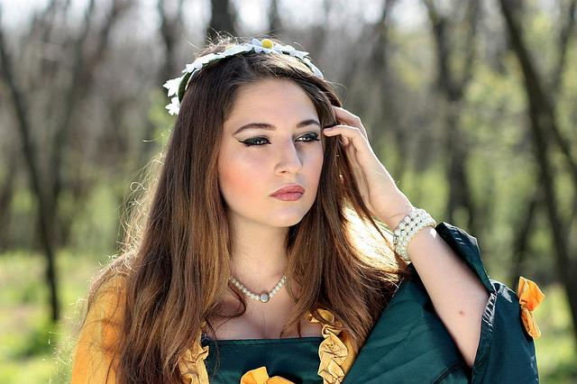 Free Photo Girl Princess Forest Spring Free Image On