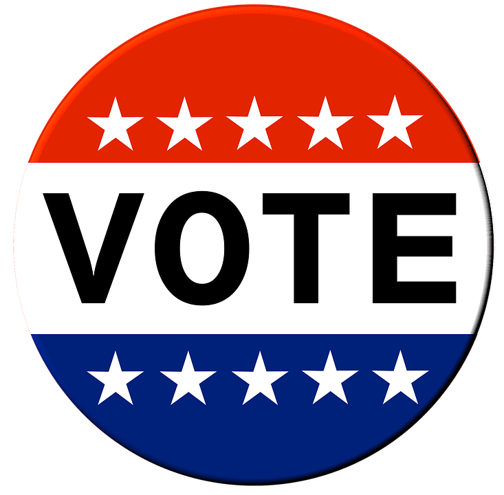 Free illustration: Vote, Button, Election, Elect - Free Image on ...