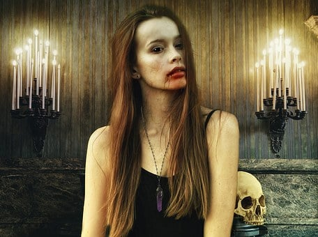 Image result for scary female vampire