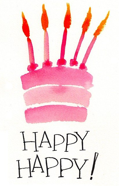 Free Illustration Birthday Cake Birthday Pink Cake
