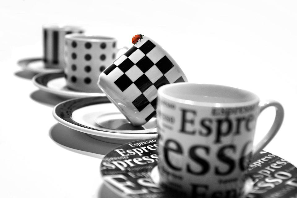 Cup, Espresso, Saucer, Tableware, Porcelain, Ceramic