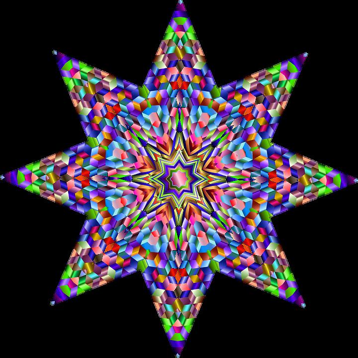 Colorat Prismatic Cromatic Grafică Vectorială Gratuită Pe