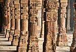 kolumny, architektura, budowla