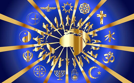 Golden Rule Shiny Metallic Religion Do Unt
