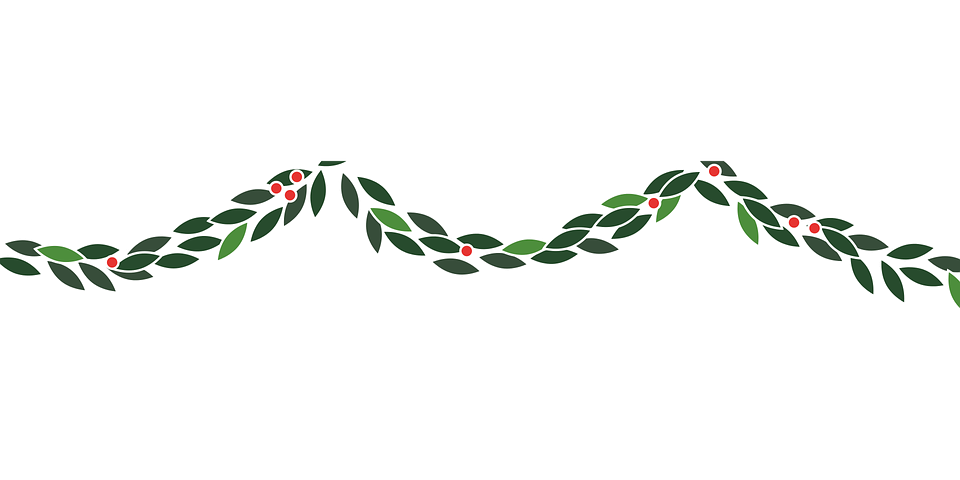 Garland Christmas Decoration · Free vector graphic on Pixabay