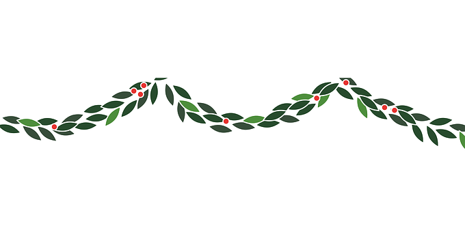 Garland, Christmas, Decoration