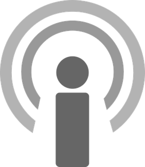 Podcast Icon Podcast Podcast Symbol Icon W