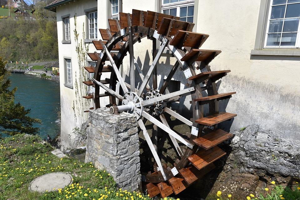 waterwheel mill wheel water free photo on pixabay