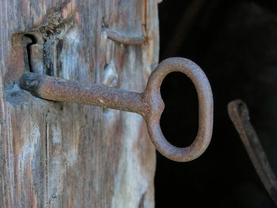 Key, Lock, Door, Old, Iron, Wood, Rustic - Free Photo: Key, Lock, Door, Old, Iron, Wood - Free Image On