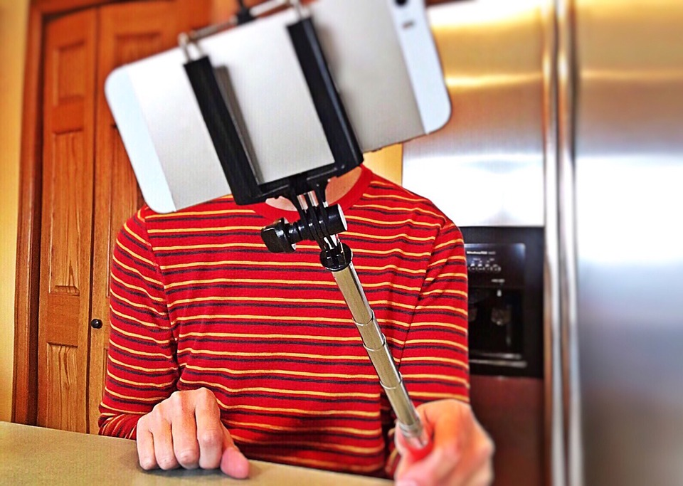 Selfie, Selfie Stick, Phone, Photo, Mobile