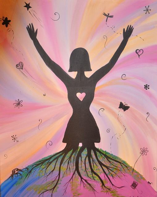 Free illustration: Acrylic, Painting, Inspiration