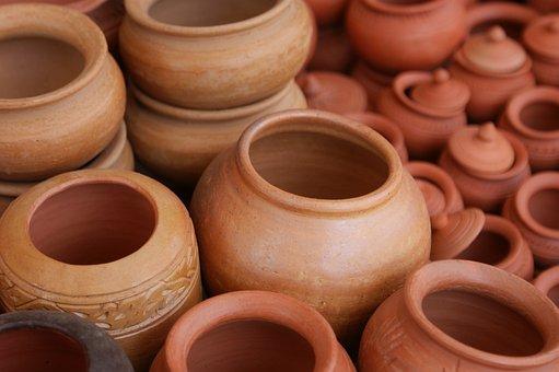 Claypots, Clay, Pots, Terracotta