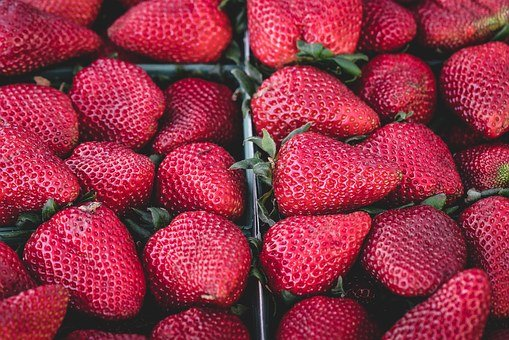 Strawberries, Delicious, Fruit, Food