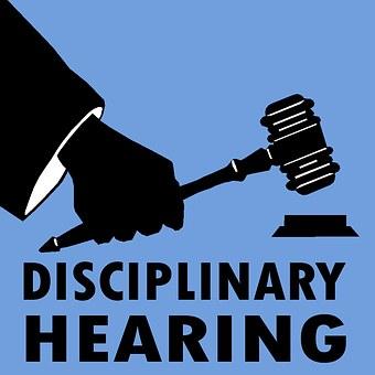 Disciplinar, Audição, Pessoas, Direito