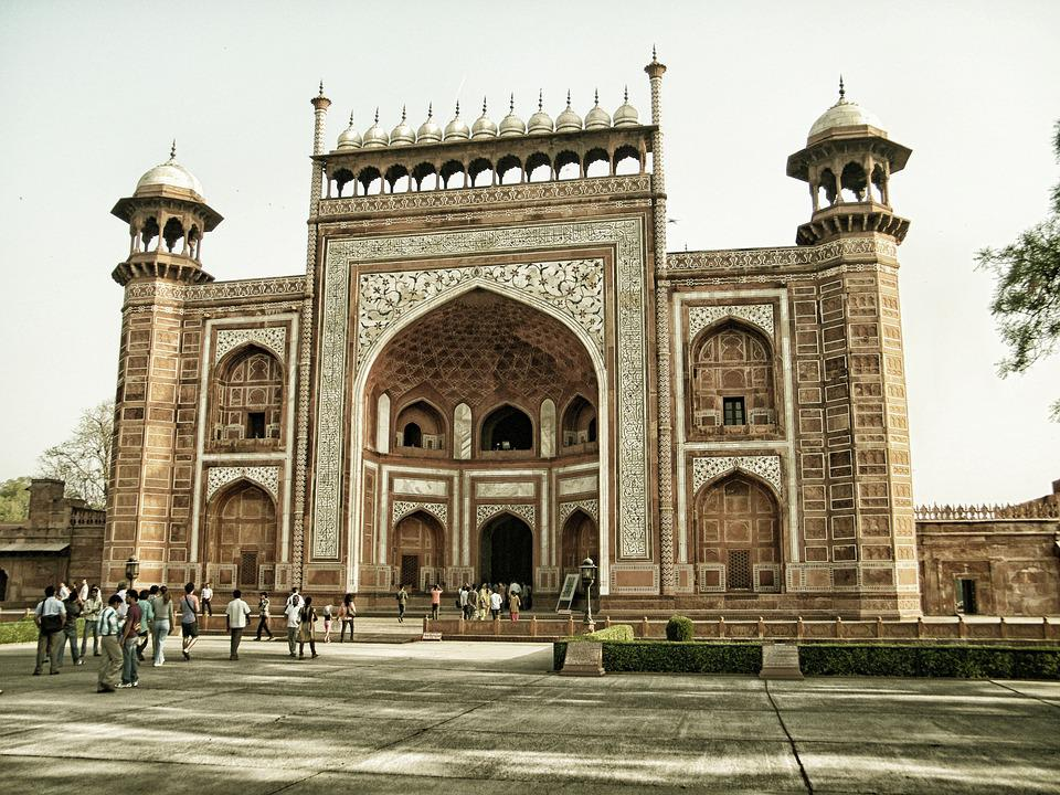 Famous Architecture Buildings In India free photo: agra, agra fort, architecture - free image on pixabay