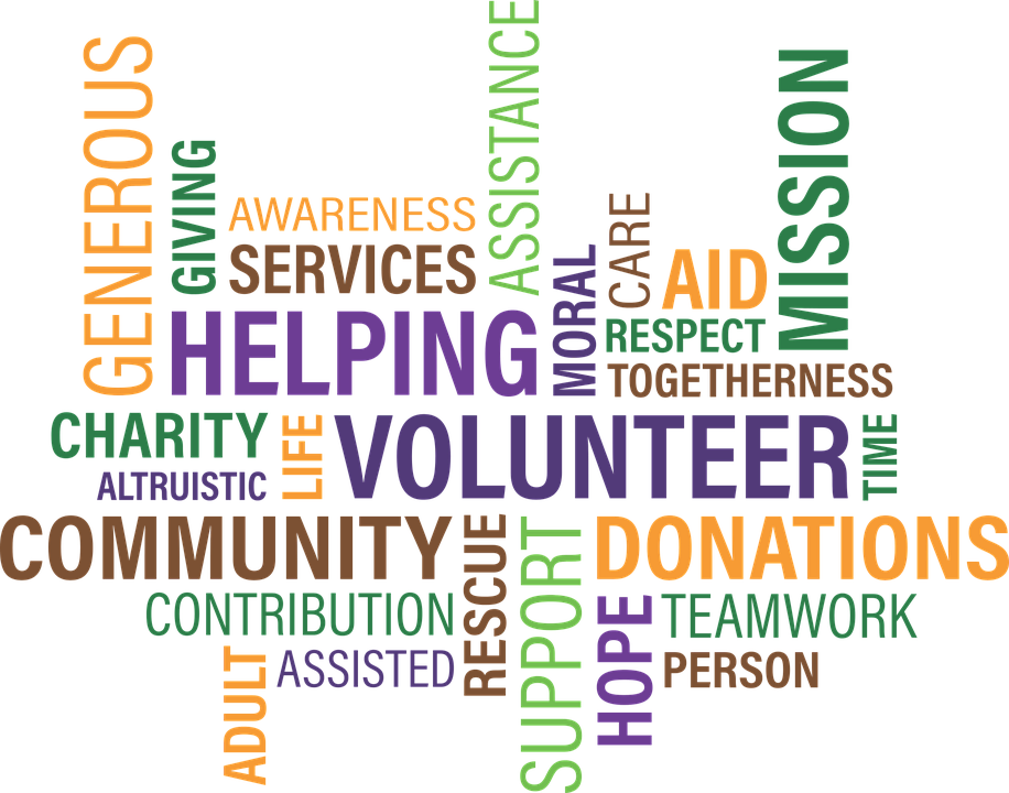 Volunteer, Charity, Cloud, Community, Fundraise