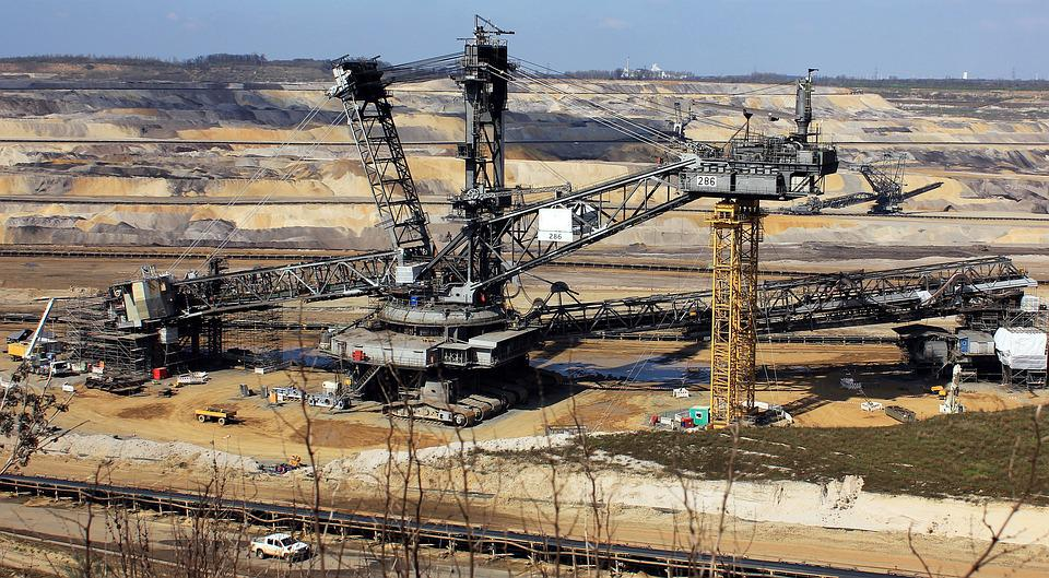 Open Pit Mining, Raw Materials, Bucket Wheel Excavators