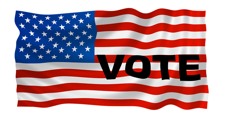 Usa, Vote, Election, Political, Voting, Campaign, Flag