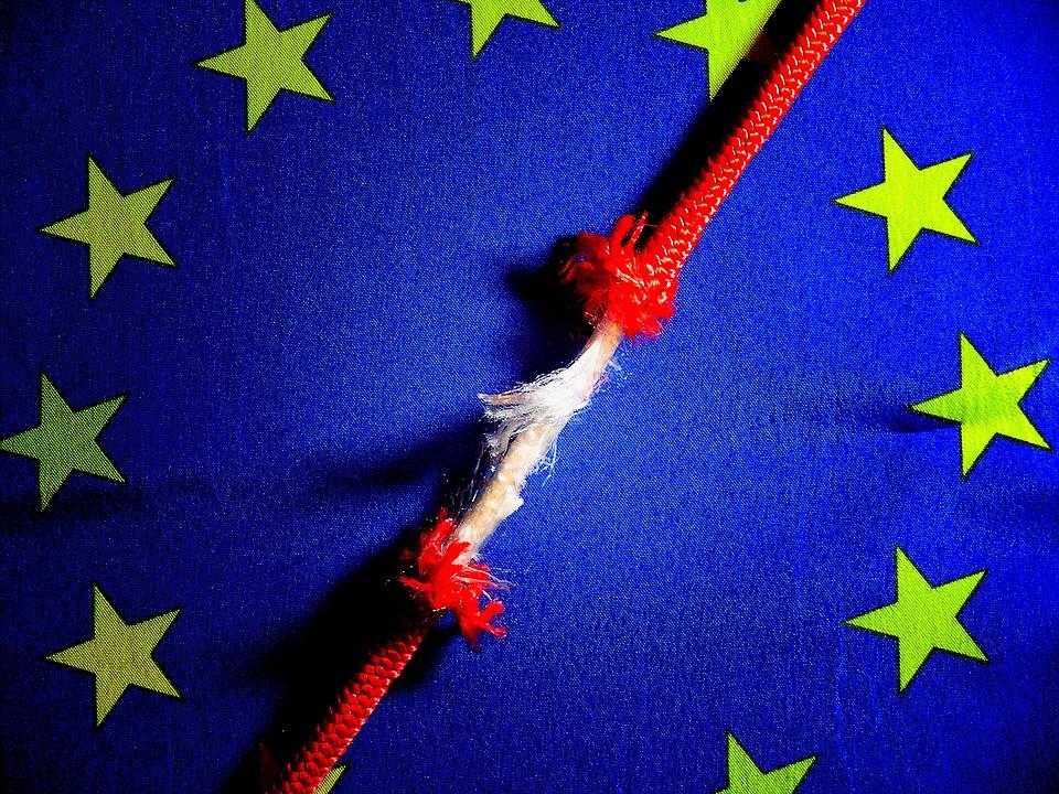 Bannière, Reconnaître, L'Europe , Drapeau Européen