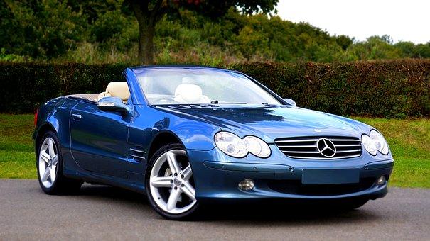 Mercedes, Car, Luxury, Modern